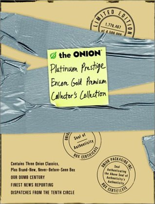 The Onion Platinum Prestige Encore Gold Premium Collector's C... by The Onion