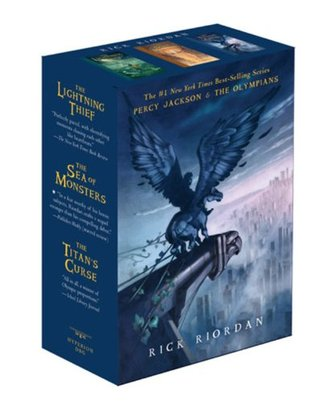 Percy Jackson and the Olympians Boxed Set by Rick Riordan
