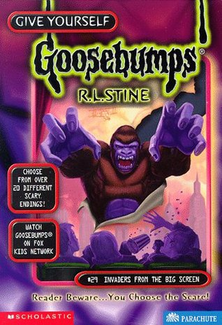 Invaders from the Big Screen by R.L. Stine