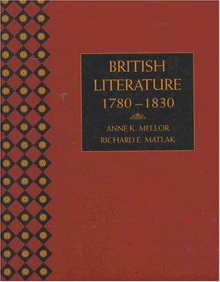 British Literature by Anne K. Mellor