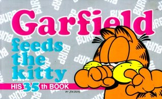 Garfield Feeds the Kitty by Jim Davis