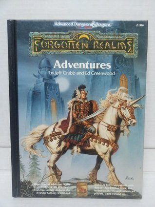 Forgotten Realms Adventures by Jeff Grubb