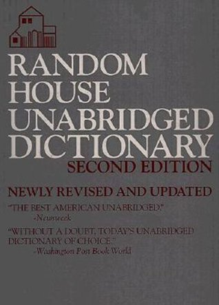 Random House Unabridged Dictionary by Random House