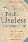 Book of Totally Useless Information