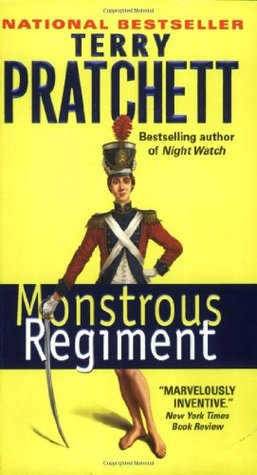 Monstrous Regiment by Terry Pratchett