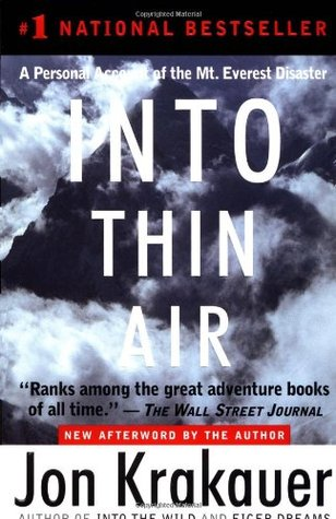 "essay on into thin air by jon krakauer The essay thin air by jon krakauer deals with the book ""thin air"" as authored by jon jon krakauers work into the wild is a non-fiction text founded on."