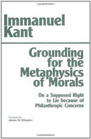 a review of immanuel kants philosophy on lying Critique of pure reason has 23,006 ratings and 494 reviews david said: immanuel kant is the kind of guy who not only kant is crucial to modern philosophy.