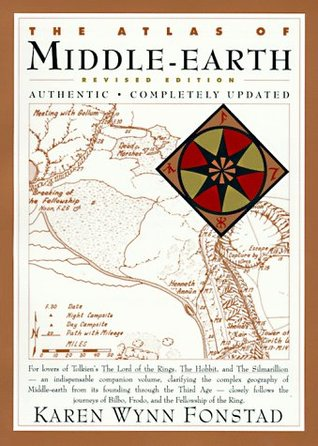 The Atlas of Middle-Earth by Karen Wynn Fonstad