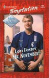 Mr. November (Men To The Rescue #5) (Harlequin Temptation, No. 856)