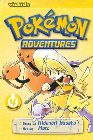 Pokemon Adventures, Vol. 4 by Hidenori Kusaka