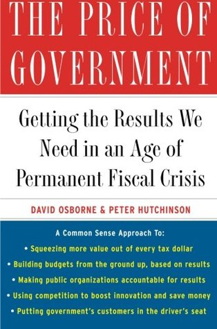 The Price of Government by David Osborne