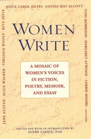 Women Write by Susan Cahill