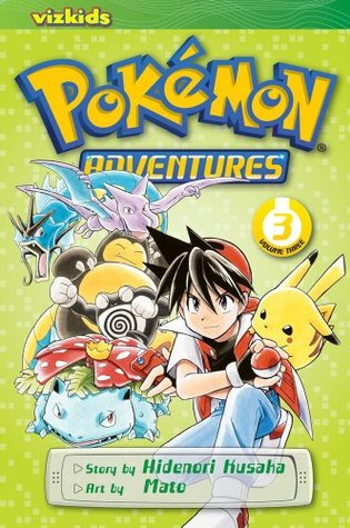Pokémon Adventures, Volume 3 by Hidenori Kusaka