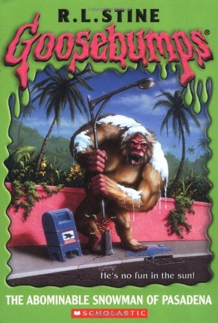 The Abominable Snowman of Pasadena by R.L. Stine