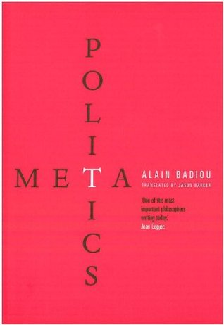 Metapolitics by Alain Badiou