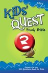 NIrV Kids' Quest Study Bible: Real Questions, Real Answers (New International Readers Version)