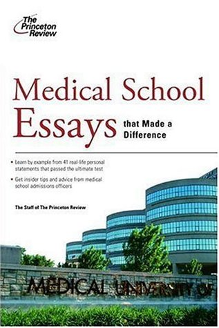 Medical Personal Statement Examples