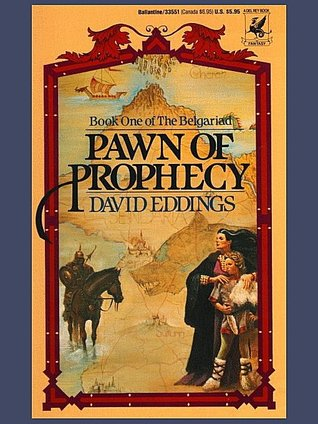 an analysis of the review on the pawn of prophecy by david eddings Home eddings, david pawn of prophecy this copy of pawn of prophecy (belgariad) offered for sale by russell books ltd for $799.
