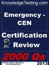 Emergency - CEN Certification Review (Certification in Emergency Nursing)