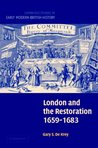 London and the Restoration, 1659-1683 (Cambridge Studies in Early Modern British History)