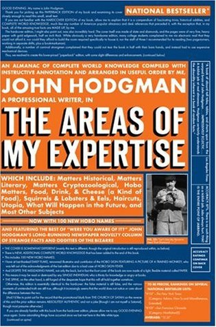 The Areas of My Expertise by John Hodgman