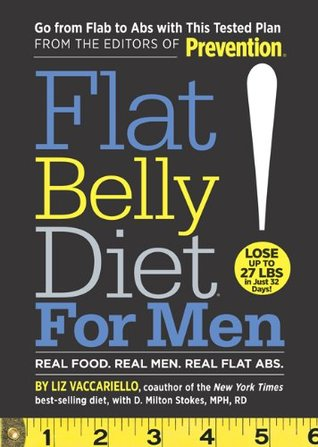 Flat Belly Diet! for Men by Liz Vaccariello