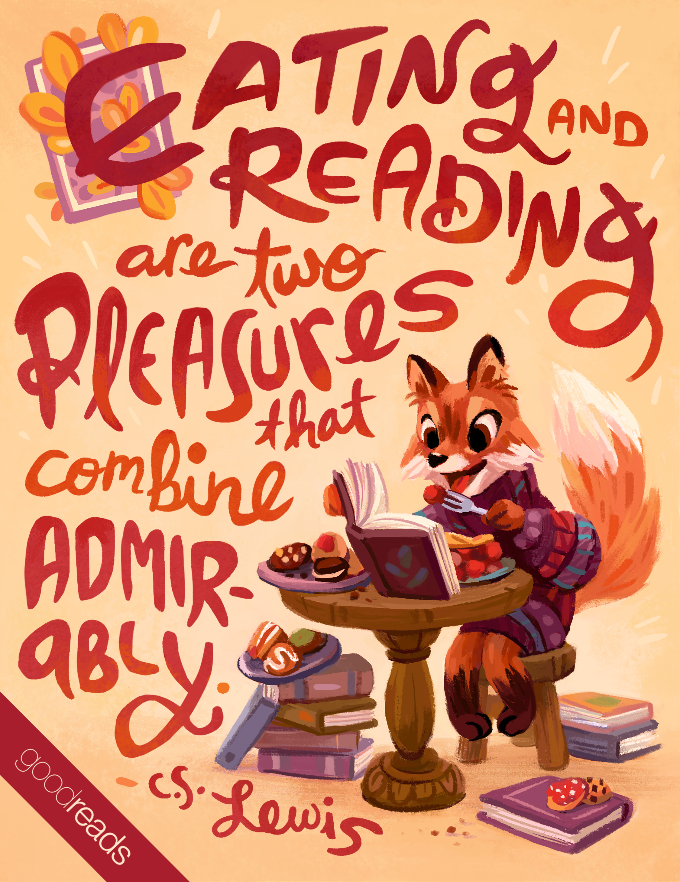 goodreads ya illustrated quote