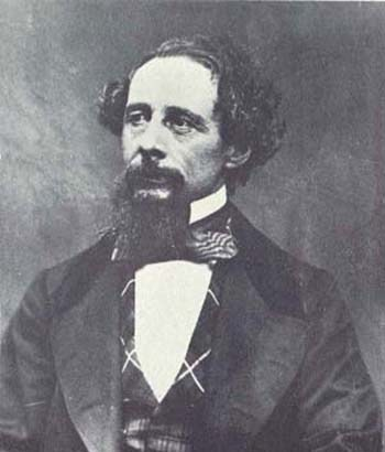Photograph of Charles Dickens (1858)