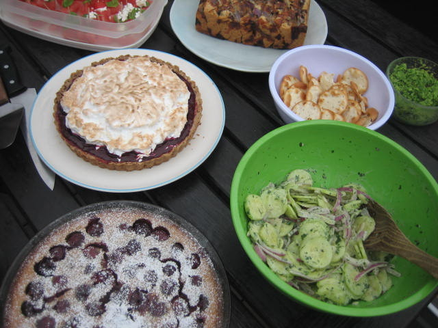 Some of our potluck selections