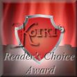 For those books that have earned the honor of being a KotRT Readers Choice book.