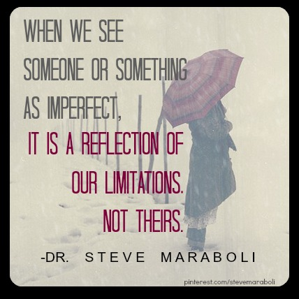 reflection on the experience of someone What we see in others is a reflection of ourselves  the people with whom you interact are showing you who you are and ultimately providing you with an opportunity.