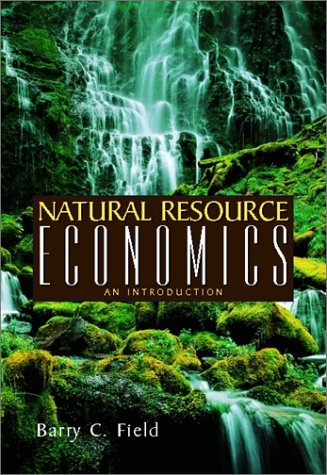 Natural Resource Economics Books