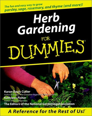 Herb gardening for dummies for dummies by karan davis for Landscaping for dummies