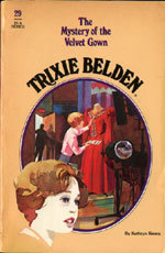 The Mystery of the Velvet Gown (Trixie Belden # 29)