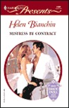 Mistress by Contract (Harlequin Presents, #2201)