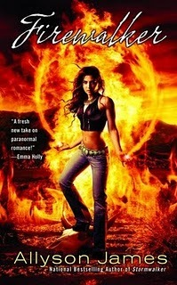 Firewalker (Stormwalker #2)  - Allyson James
