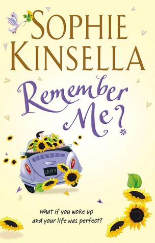 remember me, sophie kinsella, book review remember me,