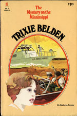 The Mystery on the Mississippi (Trixie Belden, #15)