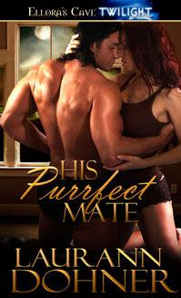 His Purrfect Mate (Mating Heat #2) - Laura Ann Gilmore