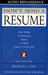 Don't Send A Resume : And Other Contarian Rules to Help Land a Great Job.  2 Cassettes (Audio Cassette)