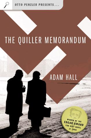 The Quiller Memorandum by Adam Hall