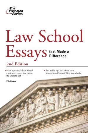 Law School Admittance Essay – 268365