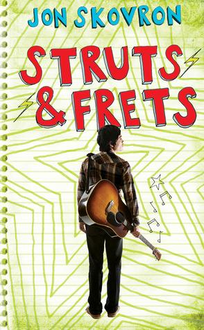 Struts Frets by Jon Skovron book cover