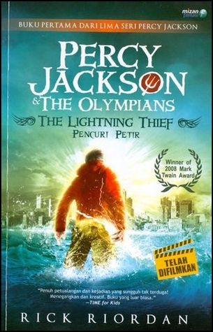 The Lightning Thief - Pencuri Petir (Percy Jackson & the Olympians, 1)