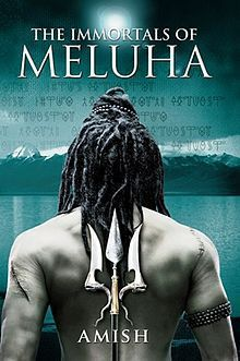 The Immortals of Meluha by Amish book cover