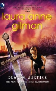 Dragon Justice (Paranormal Scene Investigations #4)  - Laura Ann Gilman