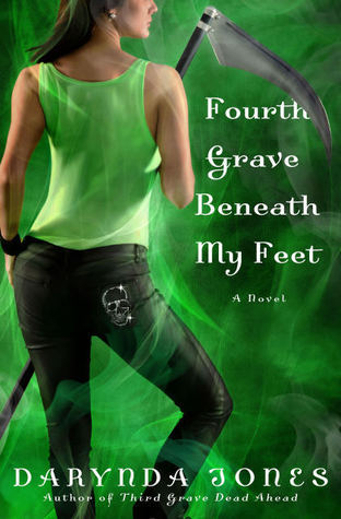 Book Review – Fourth Grave Beneath My Feet (Charley Davidson #4) by Darynda Jones
