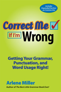 Correct Me If I'm Wrong by Arlene Miller