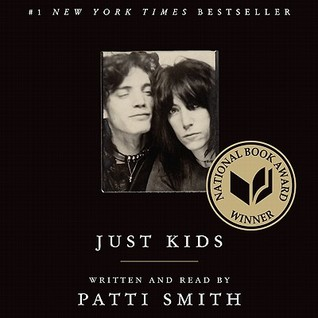 Audiobook Review – Just Kids by Patti Smith