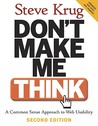 Don't Make Me Think by Steve Krug